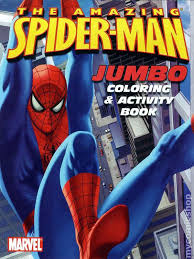 amazing spider man jumbo color and activity book sc 2006 1 1st