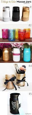 How To Decorate Canning Jars 100 Best DIY 100 Ways To Upcycle Glass JARS And BOTTLES Images On 94
