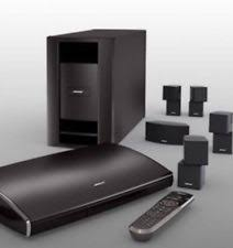 bose theater system. bose lifestyle v25 5.1 channel home theater system