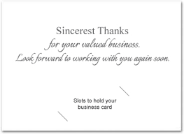 Business Thank You Note Cards Thank You Cards Business Under Fontanacountryinn Com