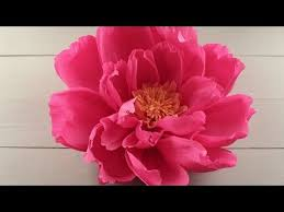 How To Make Paper Flower Backdrop You Wont Want To Miss How Easily She Makes These Beautiful Peonies