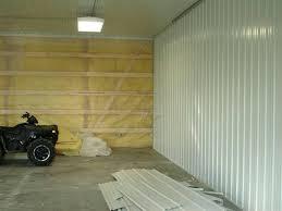 pole barn interior wall covering impressive garage stun walls design 2
