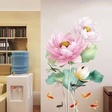 large wall decals green plant plant