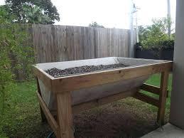 diy raised planter box raised planter bed plans raised garden beds on legs build raised garden