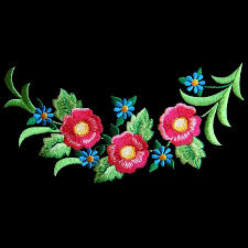 Floral Machine Embroidery Designs - Home machine embroidery designs