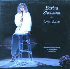 barbra streisand one voice lp orig 87
