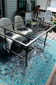 tile table top replacement tile patio table top replacement amazing best replace broken glass images on