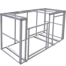 outdoor kitchen island frame kit