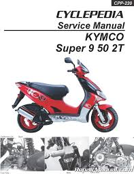 Automotive KYMCO Vitality 50 2-4T Scooter Service Manual <b>Printed</b> ...