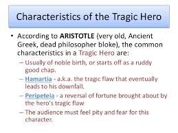 hamlet controlled assessment tragic heroes tragic hero