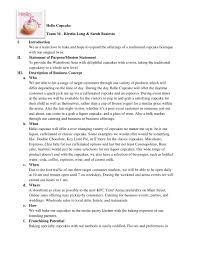 Hello Cupcake Executive Summary By Kirstin Long Via Slideshare