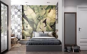 Akzentwand Schlafzimmer Tapeten Ideen