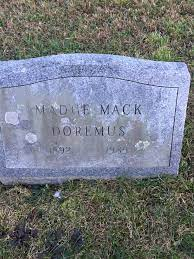 Madge Mack Doremus (1892-1985) - Find A Grave Memorial