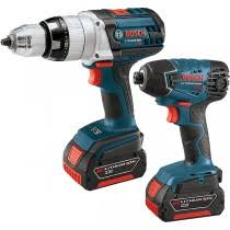power tools for sale. bosch clpk221181220 220v 18v 2-tool combo kit power tools for sale