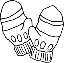 Small Picture Winter Clothes Coloring Pages Beanie Mitten And Scarf Winter