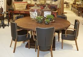 camelot pedestal round table saddle 48