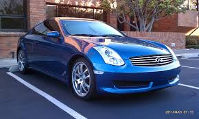 FS: 06 Athens Blue 6MT G35 Coupe - G35Driver - Infiniti G35 & G37 ...