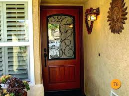 wood and glass front door solid wood slab exterior door exterior slab door medium size of wood and glass front door