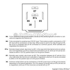 12vdc relay wiring diagram compressor start capacitor wiring 4 pin relay wiring diagram at Relay Wiring Diagram 87a