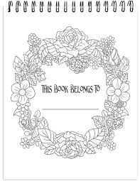 nature coloring book.  Book Colors Of Nature Illustrated By Stevan Kasih For Coloring Book ColorIt
