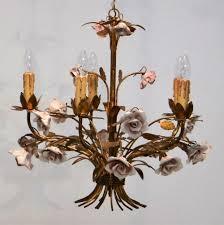 hollywood regency chandelier 1950s