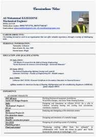 Mechanical Engineering Resumes Mechanical Engineer Resume Sample