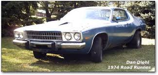 plymouth gtx msucle cars all the trimmings 1974 road runner