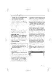 installation procedure kenwood ddx5034 user manual page 3 32