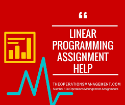 linear programming operations management homework and assignment help linear programming assignment help