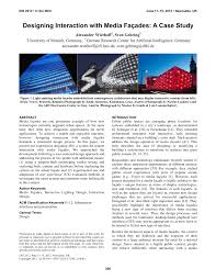 Dan Saffer Designing For Interaction Pdf Pdf Designing Interaction With Media Façades A Case Study