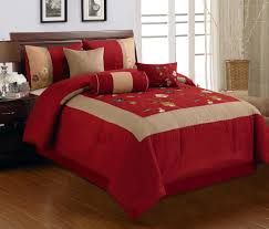 Red And Brown Bedroom Brown And Red Bedding