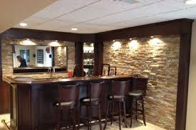 Bars For Basements 30 magnificent basement bar ideas - slodive