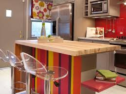 Funky Kitchen Funky Kitchen With Stripes Base Breakfast Bar And Acrylic Modern