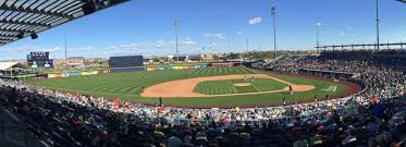 Peoria Sports Complex Seating Chart Peoria Stadium Spring Training Ballpark Of The San Diego
