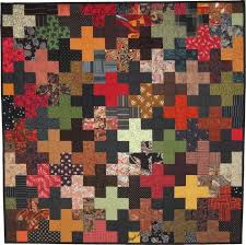 29 best Quilt Ideas - Tessellations images on Pinterest | Colours ... & tessellation cross quilt patterns like this with the dark crosses Adamdwight.com
