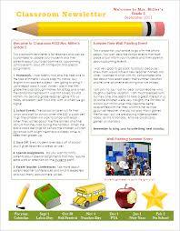 School Newsletter Templates Publisher Free Psypro Info