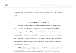 u s reaction to the two world wars a level history marked by document image preview