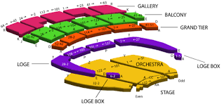 La Live Seating Chart Orpheum Seating