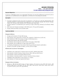 Resume akash storage admin. AKASH MISHRA Mob. - +91-9571547487  E-mail-akash.mshr2 ...