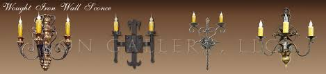 iron wall sconces wrought iron wall sconces
