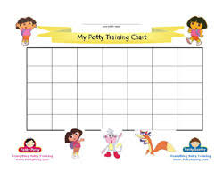 Potty Training Charts For Girls Dora Potty Training Chart Black White Potty Training Concepts
