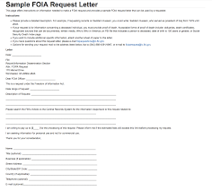requesting a promotion letter sample foia request letter fbi