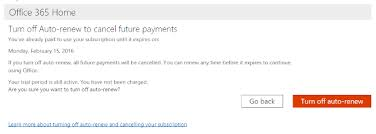 Cancel Office 365 Office 365 Renewal Magdalene Project Org