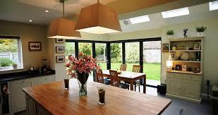 bifold doors kitchen extension