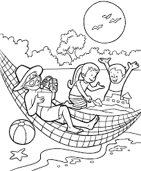 Small Picture Summer Coloring Sheet Popular With Picture Of Summer Coloring 98 3381