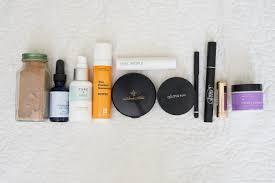 natural s in my make up bag