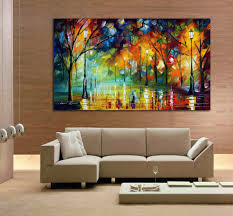 Wall Art For Living Room Aliexpresscom Buy 100 Hand Drawn City At Night 3 Knife