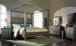 Soho Bedroom Furniture Soho Loft Queen Canopy Bed The Dump Americas Furniture Outlet