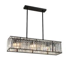 Kristall Kronleuchter Schwarz Bronze Hanglamp Moderne Kronleuchter ...