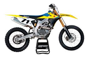 2018 dirt bikes. for 2018 suzuki finally gave the rm-z450 some sorely needed updates, including a cosmetic makeover. bike looks completely new but retains dirt bikes k